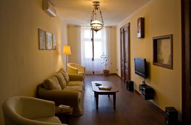 Апартаменти на площі Ринок, 20. Вітальня