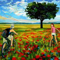 Виставка живопису Олени Кормухіної «Літні спогади»