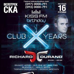 Шоу «KISS FM X Birthday» з Richard Durand