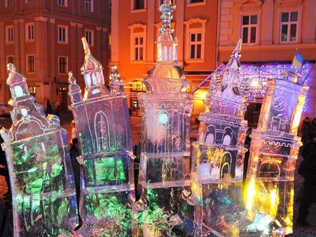 Новий рік 2013 у Львові