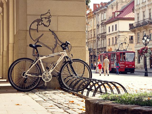 Велосипедне майбутнє Львова!