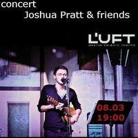 Концерт Joshua Pratt & friend