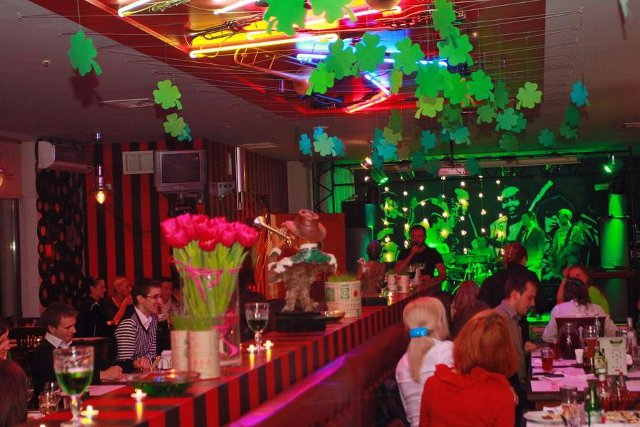 Ресторан «Динамо Блюз» стейк & музика