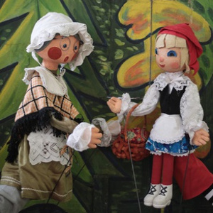 Вистава «Ще раз про Червону Шапочку» - Львівський театр ляльок