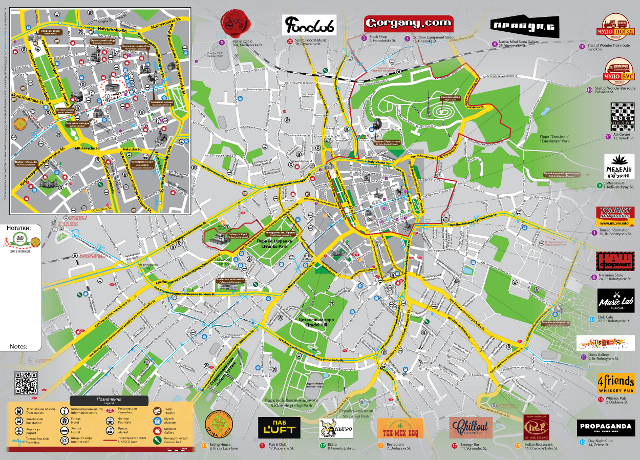 Буклет «LvivOnline. Карта міста». Зима'13/14