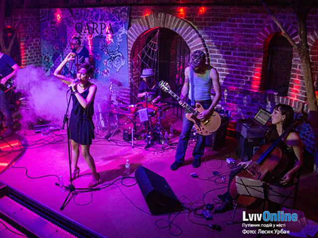 Фото з концерту гурту Qarpa