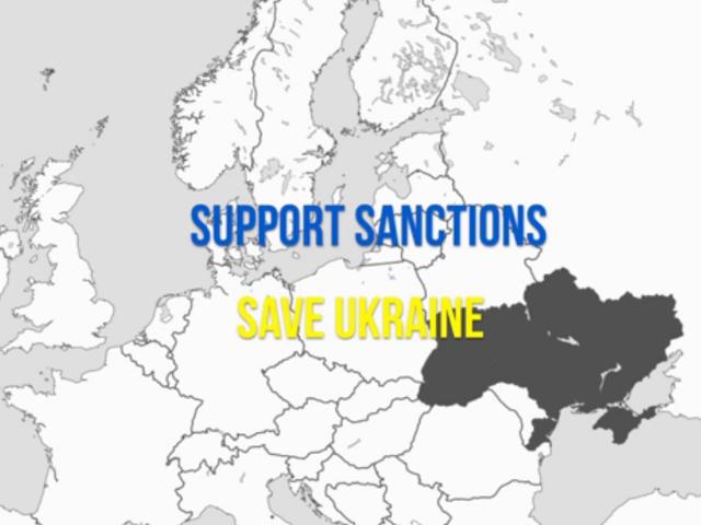 Support sanctions. Save Ukraine - ролик львів'ян до світу