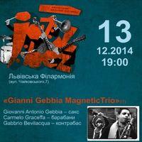 Jazz Bez-2014: «Gianni Gebbia MagneticTrio» (IT) та «Moon Hoax» (PL)