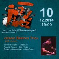 Jazz Bez-2014: «Usein Bekirov Trio» (UA: Qrym) та «Мар'яна Садовська – Марк Токар Октет» (UA)