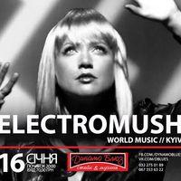 Концерт гурту Electromush (Київ)