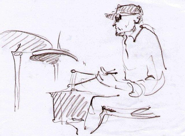 Проект «SEFARDIX». Шкіц з XIV Jazz Bez. Автор: Юстина Могитич