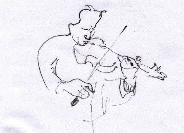 Проект «FUTUREthno». Шкіц з XIV Jazz Bez. Автор: Юстина Могитич