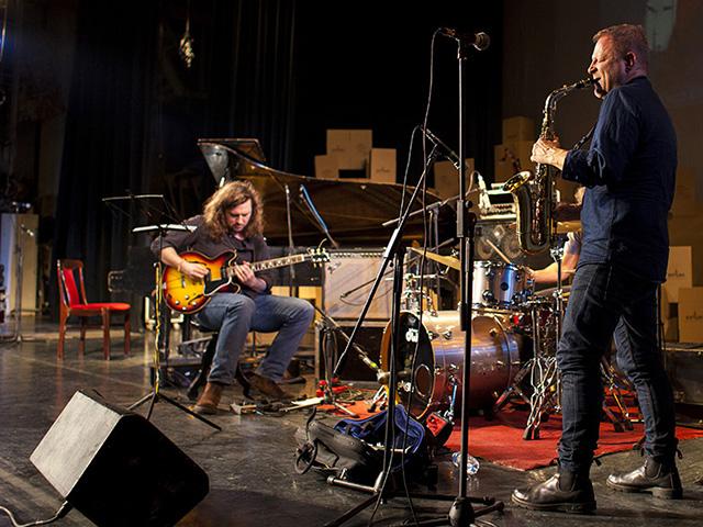 Фото з заключного концерту XIV фестивалю Jazz Bez