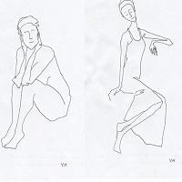 Виставка графіки Уляни Михальчук «Такі собі в собі»