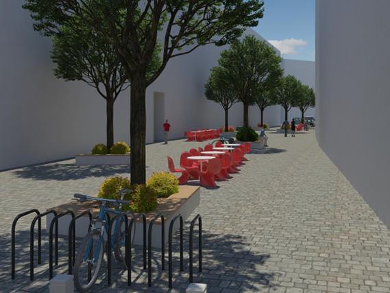 Вулицю Леся Курбаса зроблять пішохідною до серпня 2015 року