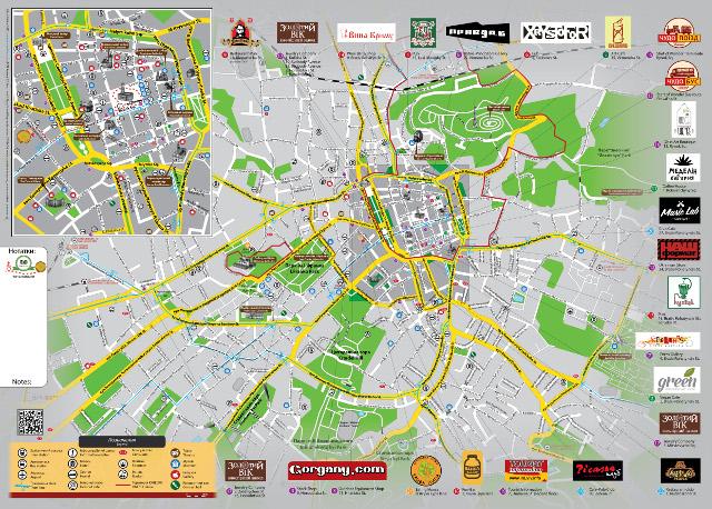 Буклет «LvivOnline. Карта міста», січень-березень 2015