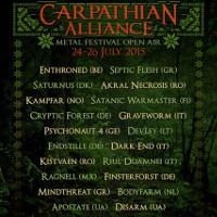 Фестиваль Carpathian Alliance Metal Festival
