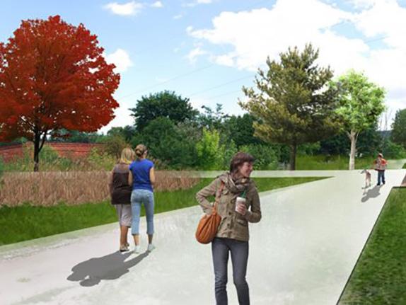 У Львові на вулиці Липинського створять парк «Індустріальний»