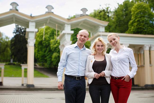 Христина, Богдан та Оксана. Фото: Максим Баландюх