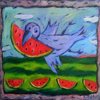 Виставка живопису Лу Сахно «Невигадані історії»