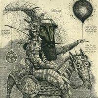 Виставка графіки Олега Денисенка «Рівновага»