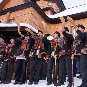 Концерт колядників з Криворівні