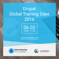 Семінар «Привіт Drupal». Drupal Global Training Days 2016