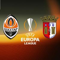 Футбол. Ліги Європи УЄФА. «Шахтар» (Донецьк) – «Брага»