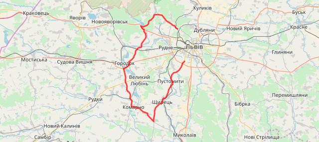 Веломарафон «Львівська сотка»