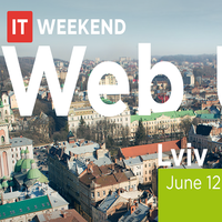 Конференція  IT Weekend Lviv — Web UI