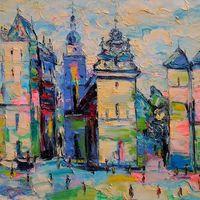 Виставка Людмили Рибенчук «Львів у просторі світла і кольору»