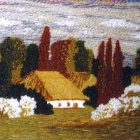 Виставка живопису нитками Олександри Зробок-Камінської