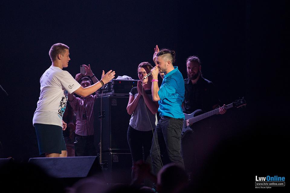 «Українська пісня» у Львові - концерт гурту «Антитіла»