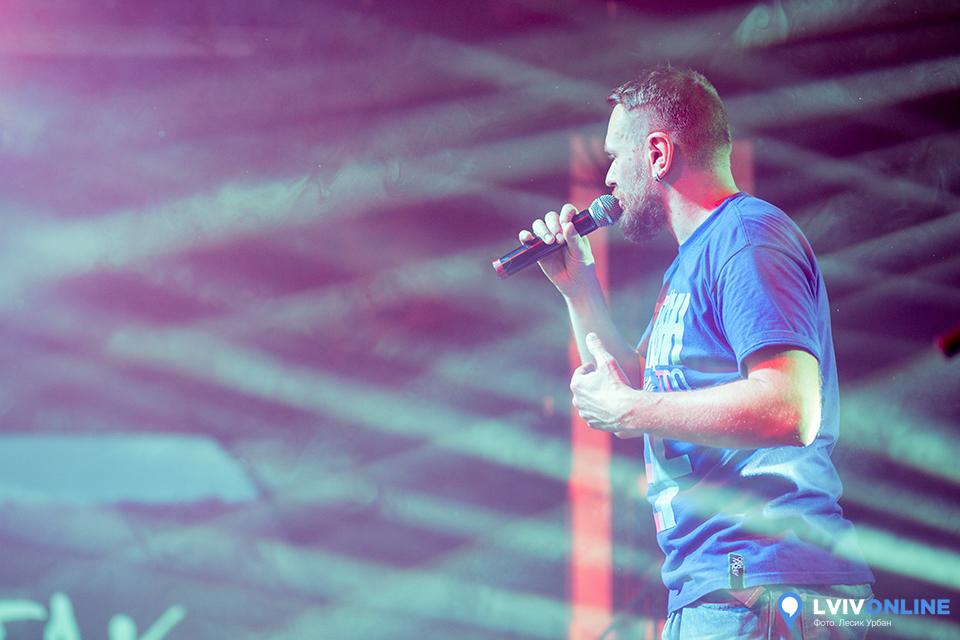 Фото з концерту гурту Тартака у Львові