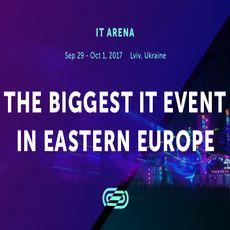 Конференція Lviv IT Arena 2017