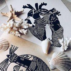 Виставка графіки Катерини Котлярової «В серці - море»