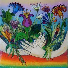 Виставка дитячих робіт «Коли все живе, цвіте…»