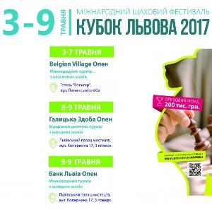 Міжнародний шаховий турнір «Кубок Львова 2017»