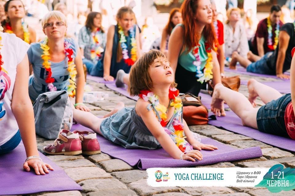 Літо у Львові: йога замість кави