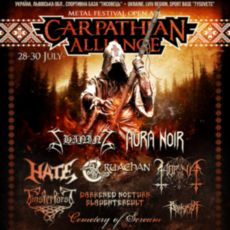 Carpathian Alliance Metal Festival 2017