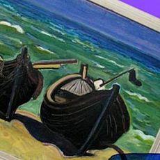 Морський пейзаж. Майстер-клас від Тетяни Гамрищак