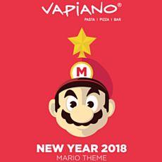 Новий рік у Vapiano в стилі Super Mario