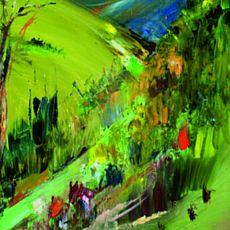 Виставка живопису Ольги Піняжко