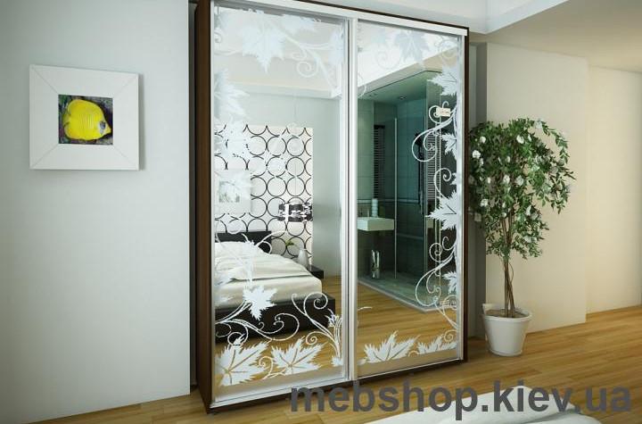 Шафа-купе для малої кімнати від MebShop