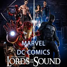 Концерт Lords of the Sound з програмою MARVEL & DC Comics