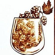 Виставка Ольги Шишунової «Від броварні до кав'ярні»
