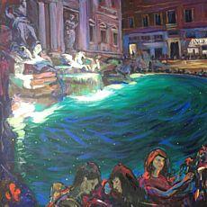 Виставка Юрія Ямаша «Римські канікули»