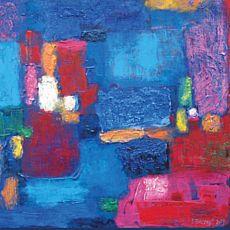 Виставка живопису Ігора Бадяка «Кобальтовий вітер»
