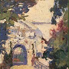 Виставка «Свірзький замок у творчості графині Ірени Коморовської»