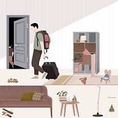 Інтерактивна інсталяція «Вмісти своє життя у валізу»